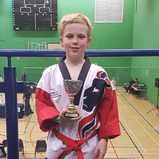 Jake Roberts – 2nd Kup Red Belt