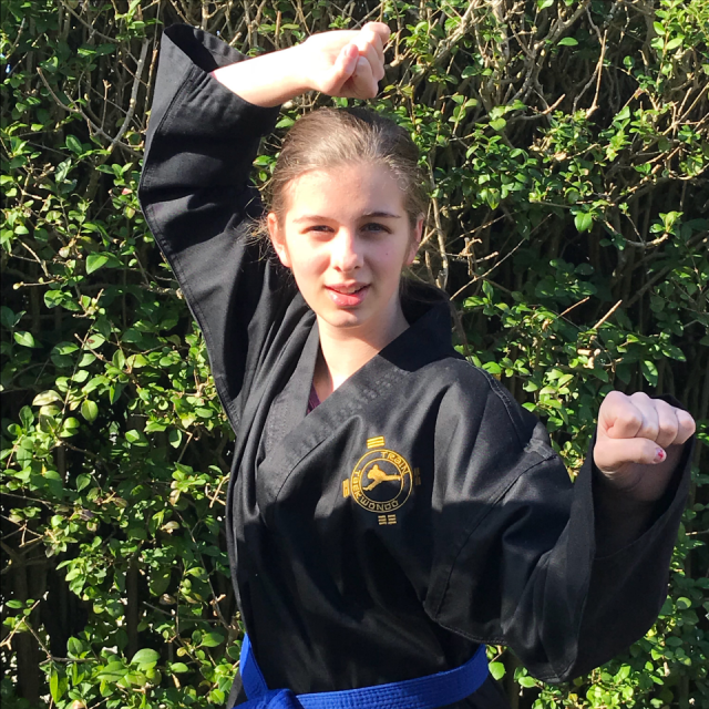 Felicity Cairns – 4th Kup Blue Belt